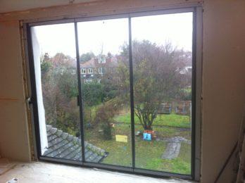 DG frameless glass - closed