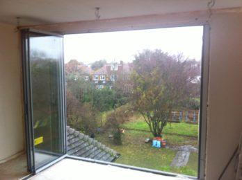 DG frameless glass open