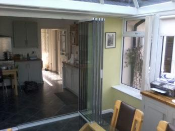 Frameless Glass Doors - internal