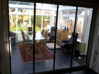 DG frameless glass doors