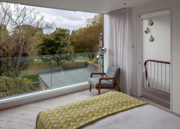 ULTRASLIM DOORS (open) + Juliet balcony